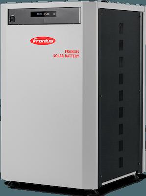 Fronius solcellebatteri batteriløsning lagring af el