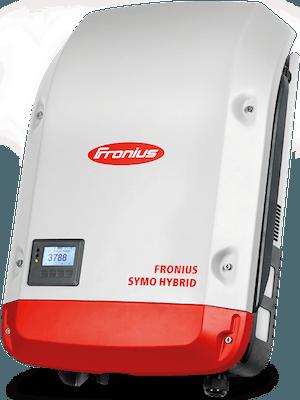 Fronius hybrid symo inverter klar til batterianlæg solcelleanlæg med batteri