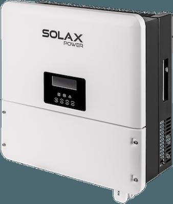 SolaX Power X-Hybrid inverter klargjort til batteri batteriklar batterianlæg solcelleanlæg med batteri lagring